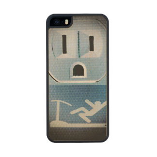 Oh No! Carved® Maple iPhone 5 Case