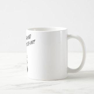OH NO YOU DI-INT! Retro Housewife B&W Mugs