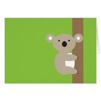 Oh Oh Koala Card