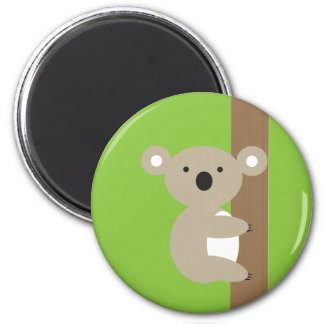 Oh Oh Koala Refrigerator Magnets