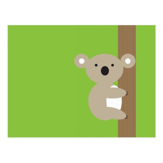 Oh Oh Koala Postcard
