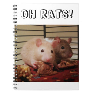 Oh Rats! Spiral Notebook