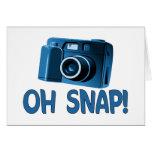 Oh Snap Camera Greeting Card
