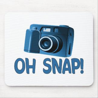 Oh Snap Camera Mouse Mat