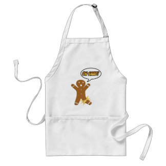 Oh Snap Funny Christmas Gingerbread Man Aprons
