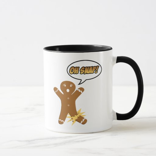 Oh Snap! Funny Christmas Mugs