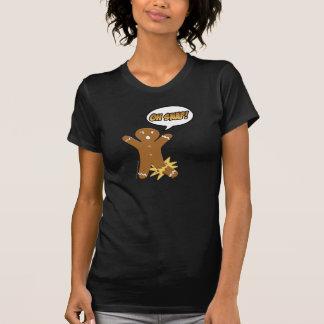 Oh Snap! Funny Gingerbread Man Tee Shirts