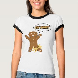 Oh Snap! Funny Gingerbread Man Tshirt