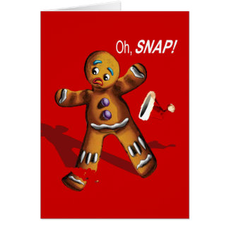 Oh, Snap! Greeting Card