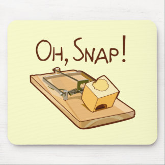 Oh, Snap! Mouse Mat