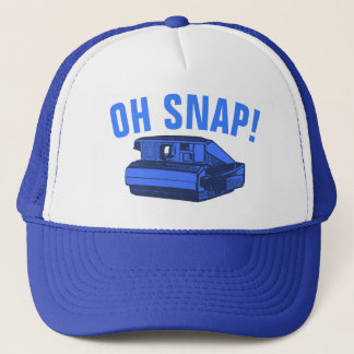 Oh Snap Photo Geek Trucker Hat