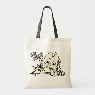 Oh Snap Skeleton Tote Bag