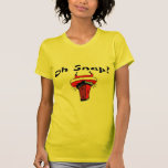 Oh Snap Stuck Santa T-shirts