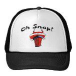 Oh Snap Stuck Santa Trucker Hats