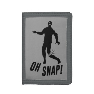 Oh Snap! Trifold Wallet