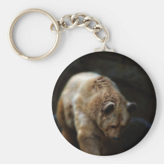 Oh So Cuddly Basic Round Button Key Ring