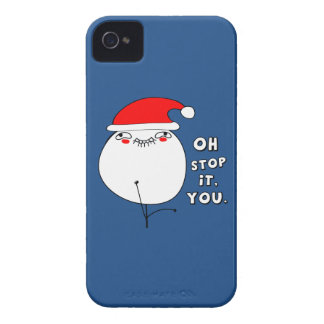 oh stop it you xmas meme iPhone 4 covers