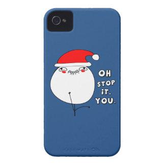 oh stop it you xmas meme iPhone 4 case