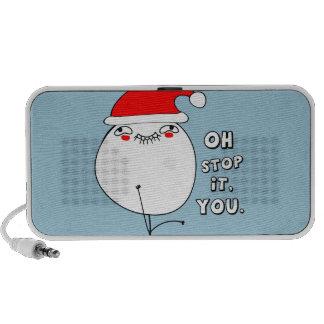 oh stop it you xmas meme laptop speakers