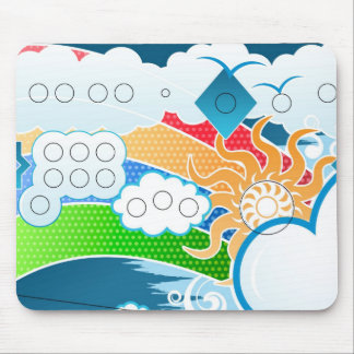 Oh,Sunny Day! - Designer Mousepad Mouse Pad