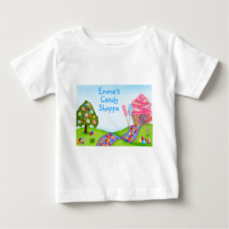 Oh Sweet Candy Land and Cupcakes Baby T-Shirt
