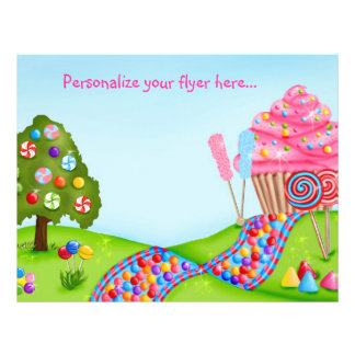Oh Sweet Candyland Flyer / Letterhead