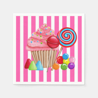 Oh Sweet Candyland Paper Napkins