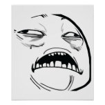 Oh Sweet Jesus Thats Good Rage Face Meme Posters