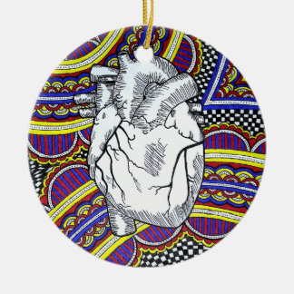 Oh the Heart Christmas Ornament