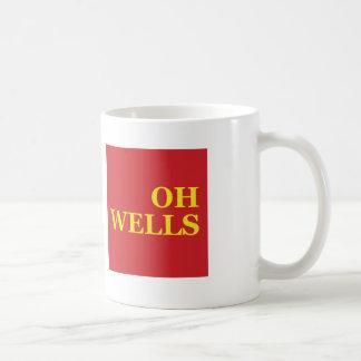 OH WELLS Mug Basic White Mug