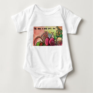 Oh, what a lucky bird I am ! Baby Bodysuit