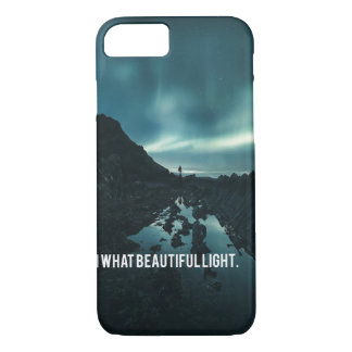Oh What Beautiful Light iPhone 8/7 Case