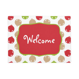 Oh What Fun! Christmas bells door mat/rug Doormat