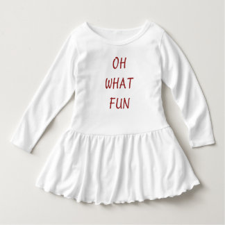 Oh What Fun Christmas Dress