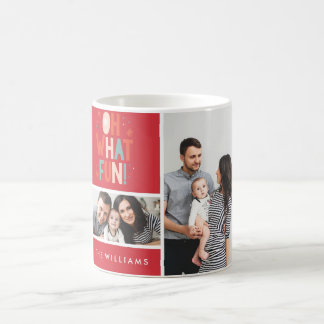 Oh What Fun! Festive Photo Mug