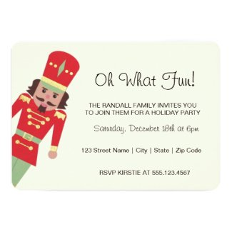 """Oh What Fun"" Toy Soldier 