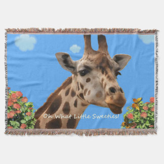 Oh What Little Sweetie's! Throw Blanket
