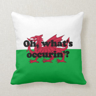 'Oh, what's occurin'?' Cushion