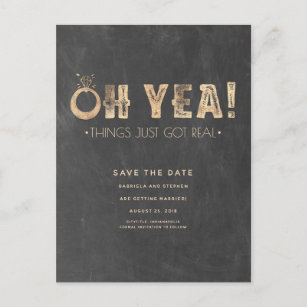 Funny Save The Date Cards Invitations Zazzlecouk - Funny save the date templates