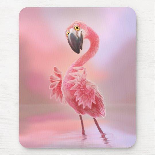Oh Yeah Flamingo! Mouse Mat