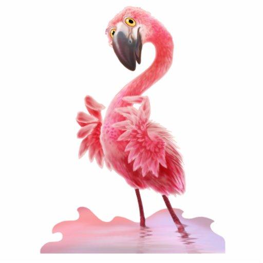 Oh Yeah Flamingo Photo Sculpture Zazzle