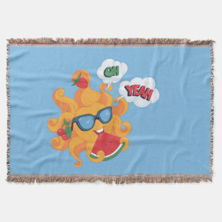 Oh! Yeah! it's summer Throw Blanket