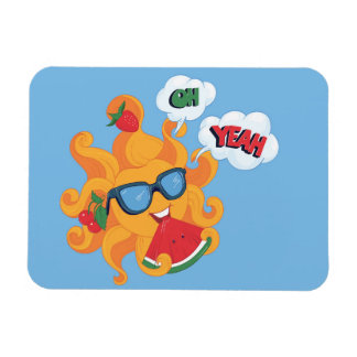 Oh! Yeah! it's summer time Magnet