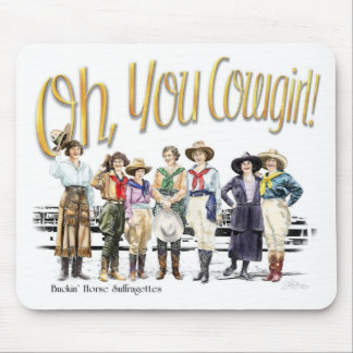 Oh You Cowgirl! Collection Mouse Mat