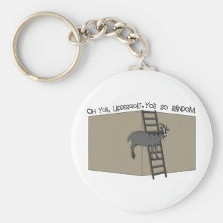 Oh You, LadderGoat , You so Random Basic Round Button Key Ring