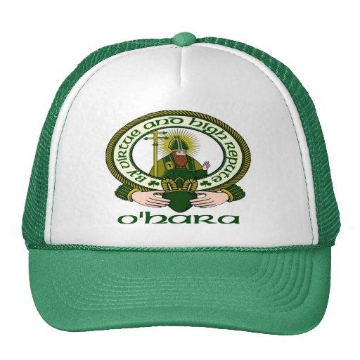 O'Hara Clan Motto Cap Mesh Hats