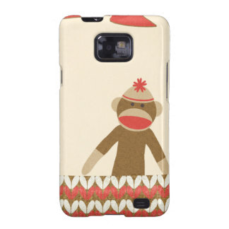 OhBabyBaby CUTE CARTOON MONKEY STORY SCRAPBOOKING Samsung Galaxy S2 Case