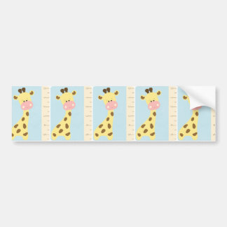 OhBabyBaby_giraffe-journal-card CUTE BABY GIRAFFE Bumper Sticker
