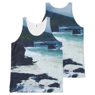 O'heo Gulch Maui All-Over Print Tank Top