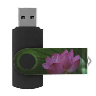 Ohga Lotus, Sankei-en Garden, Yokohama, Japan Swivel USB 2.0 Flash Drive